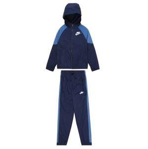 Nike Sportswear Joggingová souprava  světlemodrá / námořnická modř