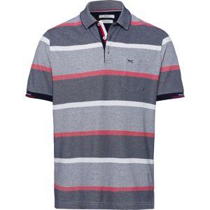 BRAX Tričko 'Paco'  pastelově červená / šedá / kámen / bílá