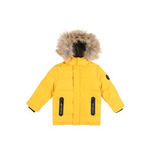 STACCATO Zimní bunda  žlutá / černá