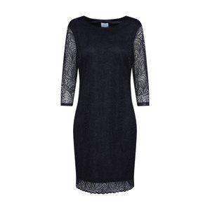 VILA Šaty 'BLOND'  černá