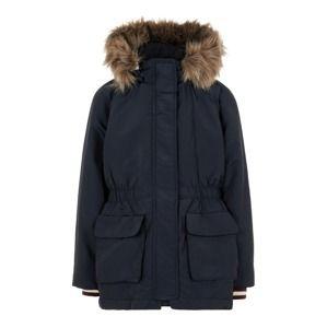 NAME IT Zimní bunda  noční modrá
