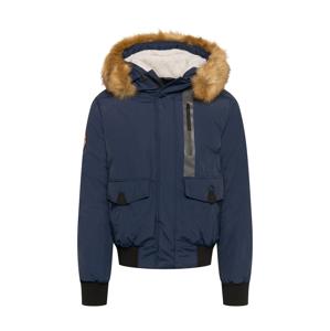 Superdry Zimní bunda 'Everest'  noční modrá