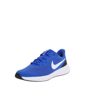NIKE Sportovní boty 'Revolution 5'  bílá / modrá