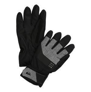 QUIKSILVER Sportovní rukavice 'GATES GLOVE M GLOV'  šedá / černá
