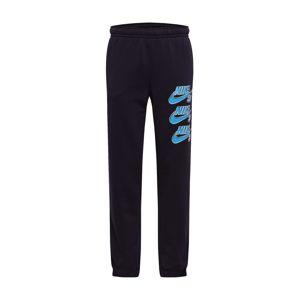 Nike SB Kalhoty  modrá / černá