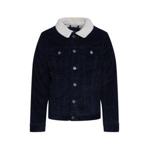 BLEND Přechodná bunda 'Outerwear'  bílá / námořnická modř