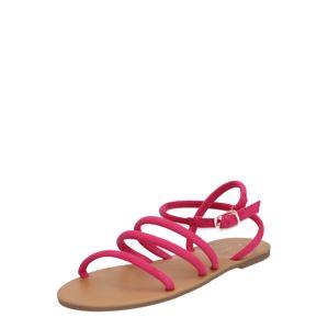 Dorothy Perkins Páskové sandály 'Flicka Tubular Sandal'  pink