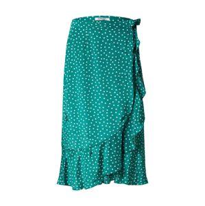 GLAMOROUS Sukně 'EA0356'  bílá / zelená