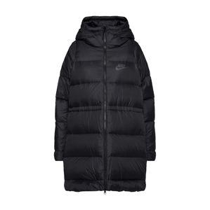 Nike Sportswear Přechodný kabát  černá