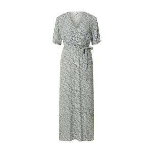 mbym Letní šaty 'Semira'  bílá / modrá / zelená