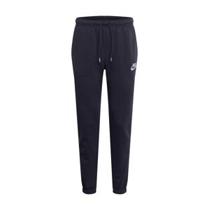 Nike Sportswear Kalhoty  stříbrná / černá