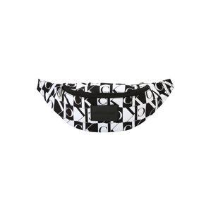Calvin Klein Jeans Ledvinka 'ESSENTIALS PRINT STREET PACK'  černá / bílá