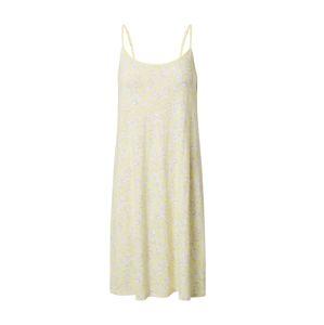 SCHIESSER Tričko na spaní 'Rise Up'  světle šedá / pastelově žlutá / bílá