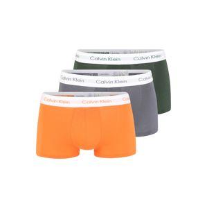 Calvin Klein Underwear Boxerky  šedá / zelená / oranžová