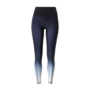 Superdry Sportovní kalhoty  bílá / modrá / tmavě modrá