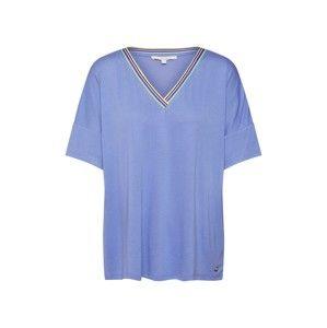 TOM TAILOR DENIM Oversized tričko  královská modrá