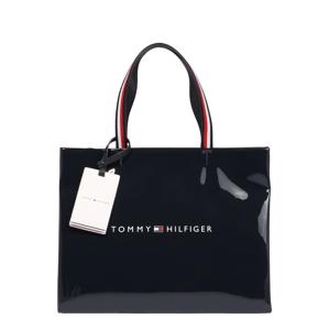 TOMMY HILFIGER Nákupní taška  tmavě modrá / bílá / červená