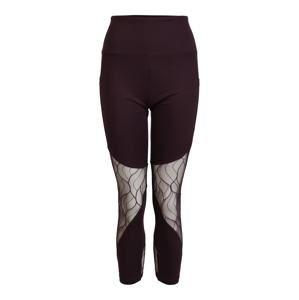 Marika Sportovní kalhoty 'ARABELLA'  tmavě fialová / průhledná