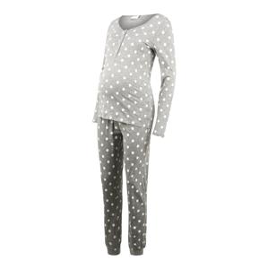 MAMALICIOUS Pyžamo  šedá / bílá