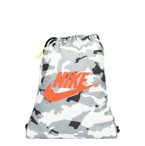 Nike Sportswear Batoh 'HERITAGE'  šedá / bílá