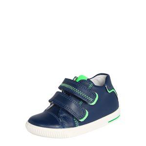 SUPERFIT Tenisky 'MOPPY'  tmavě modrá / svítivě zelená