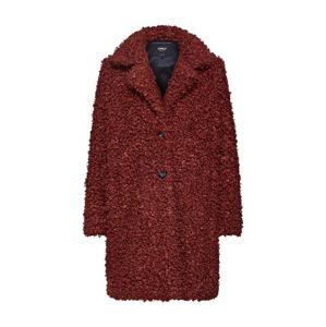 ONLY Přechodný kabát 'CAMILLA'  rezavě hnědá