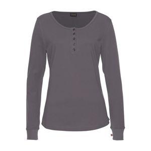 LASCANA Tričko na spaní  tmavě šedá