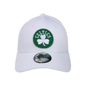 NEW ERA Kšiltovka 'NBA 39THIRTY'  zelená / bílá