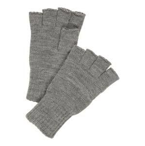 JACK & JONES Rukavice s krátkými prsty 'Henry'  tmavě šedá / šedý melír