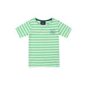 STACCATO Tričko  modrá / zelená / offwhite