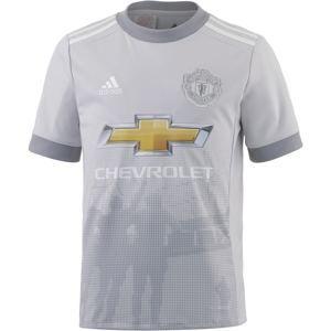ADIDAS PERFORMANCE Funkční tričko 'Manchester United 17/18 CL'  světle šedá