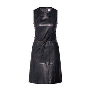 BOSS Šaty 'Jairy'  černá
