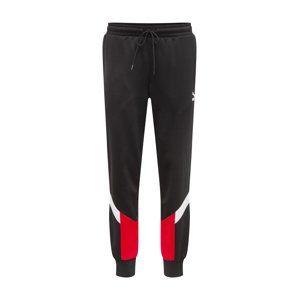 PUMA Kalhoty 'Iconic MCS Cuff'  červená / černá / bílá
