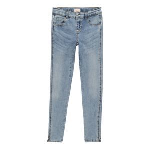 KIDS ONLY Džíny 'ROSE ANKLE LIGHT BLUE SLIT JEANS'  modrá džínovina