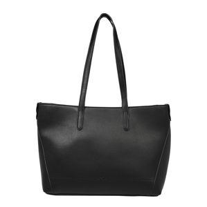 TOM TAILOR Nákupní taška 'EVY'  černá