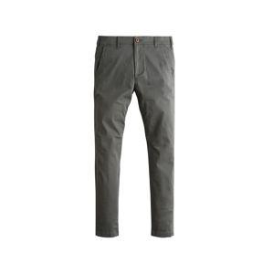 HOLLISTER Chino kalhoty  šedá džínová