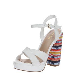 ALDO Páskové sandály 'VELLANVRANE'  mix barev / bílá